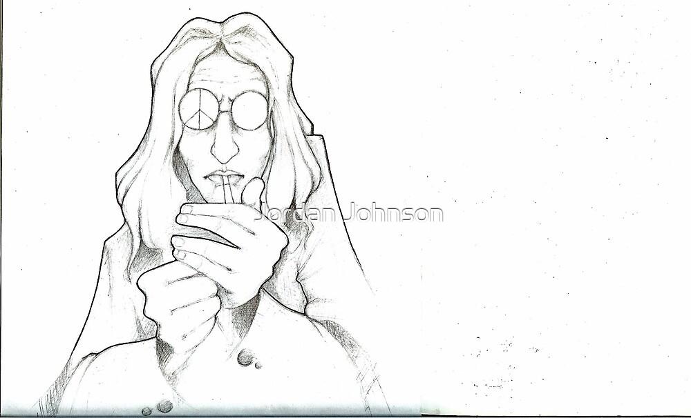John Lennon by Jordan Johnson