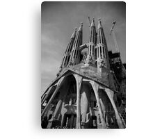 cityscapes #214, to the heavens Canvas Print