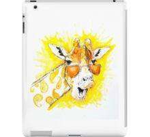 Funky Giraffe iPad Case/Skin