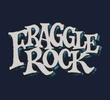 Fraggle Rock Vintage Style in WHITE  by NoirGraphic