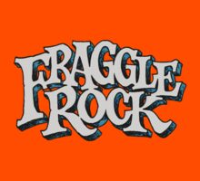 Fraggle Rock Vintage Style in WHITE  Kids Clothes