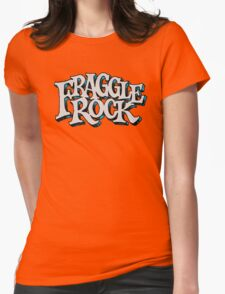 Fraggle Rock Vintage Style in WHITE  Womens Fitted T-Shirt