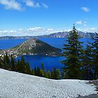 Wizard Island- Crater Lake by 2HivelysArt
