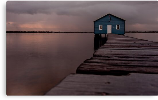 Crawley Boatshed by Pene Stevens