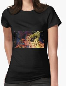 Salvatore - Abstract Fractal Womens Fitted T-Shirt