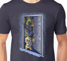 Something at my door Unisex T-Shirt