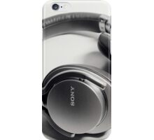Sony Headphone iPhone Case/Skin