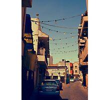 Bahrain Alleyway Photographic Print