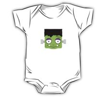 Halloween Frankenstein Shirt One Piece - Short Sleeve