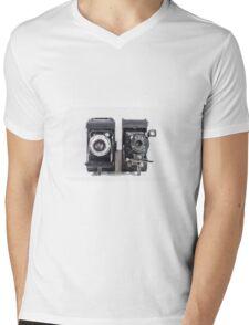 Vintage cameras Mens V-Neck T-Shirt