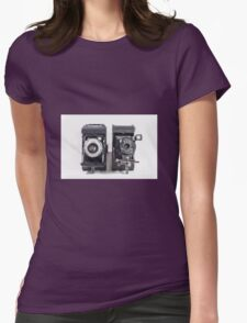 Vintage cameras Womens Fitted T-Shirt