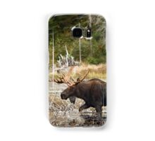 Bull moose - Algonquin Park Samsung Galaxy Case/Skin