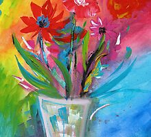Flowers for Mothers day by Karin Zeller