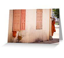 Cambodge - Une vie de moine Greeting Card