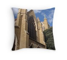Cathedral In Hobart By Magda Labuda Throw Pillow