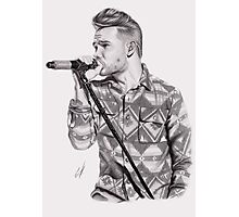 Liam On Stage Photographic Print