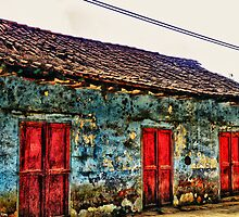 Old House in Huautla by Pandrot