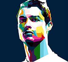 Cristiano Ronaldo Artistic Face by FeatherLigure