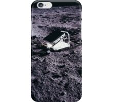 Apollo Archive 0027 Moon Experimental Equipment on Lunar Surface iPhone Case/Skin