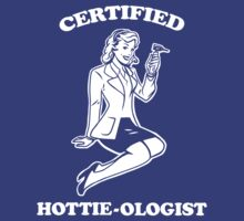 Certified Hottie-ologist v.2.0 by ninjaink