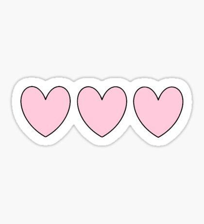 Pink Heart Sticker Sticker