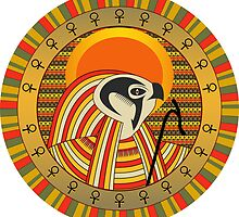 Egyptian god by nikolaich