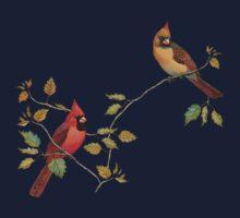 Cardinal Couple One Piece - Long Sleeve