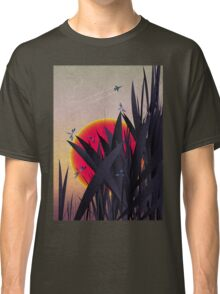 Red Heat (with Dragonflies) Classic T-Shirt