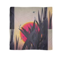 Red Heat (with Dragonflies) Scarf
