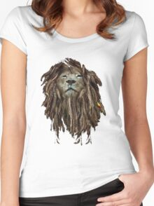 Lion Of Judah Women's Fitted Scoop T-Shirt