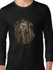 Lion Of Judah Long Sleeve T-Shirt