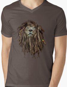 Lion Of Judah Mens V-Neck T-Shirt