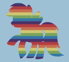 Rainbow Rainbow Dash One Piece - Short Sleeve