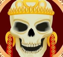 Skull the god of death  Sticker