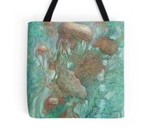 Blue Alternator, primordial abstraction 2  Tote Bag