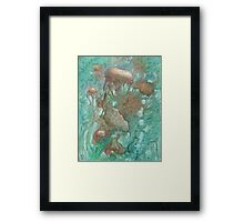 Blue Alternator, primordial abstraction 2  Framed Print