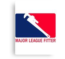 Major League Fitter Canvas Print