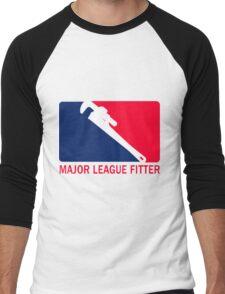 Major League Fitter Men's Baseball ¾ T-Shirt
