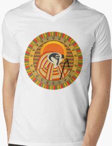 Egyptian god of sun Ra Mens V-Neck T-Shirt
