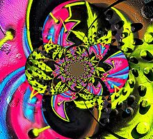 Twisted Graffiti # 9 by David Schroeder