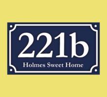 221b - Holmes Sweet Home Kids Tee