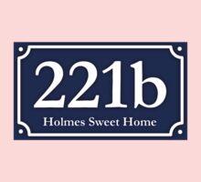 221b - Holmes Sweet Home One Piece - Long Sleeve