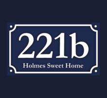 221b - Holmes Sweet Home Baby Tee
