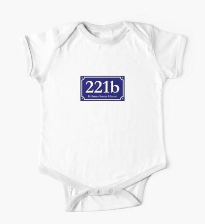 221b - Holmes Sweet Home One Piece - Short Sleeve