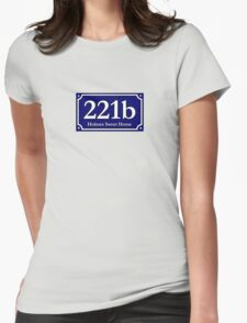 221b - Holmes Sweet Home Womens Fitted T-Shirt