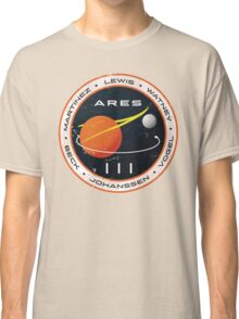 ARES 3 Mission Patch - The Martian Classic T-Shirt