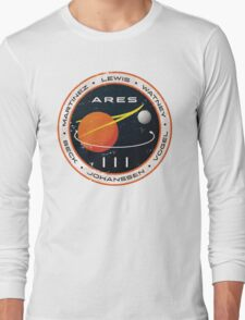 ARES 3 Mission Patch - The Martian Long Sleeve T-Shirt