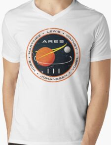 ARES 3 Mission Patch - The Martian Mens V-Neck T-Shirt