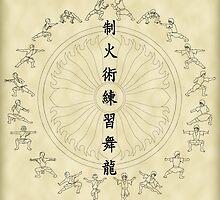 The Dancing Dragon II by julianarnold