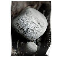 Nestled stones Poster